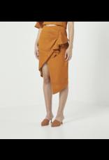 elliatt elliatt floridita skirt with ruffle