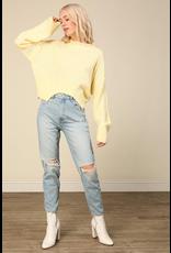 line & dot line + dot leighton sweater