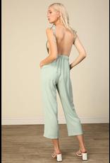 line & dot line + dot pavia jumpsuit