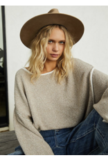 free people free people bardot sweater