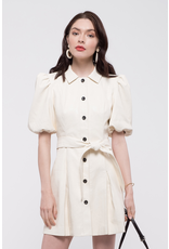 moon river moon river  balloon sleeve dress