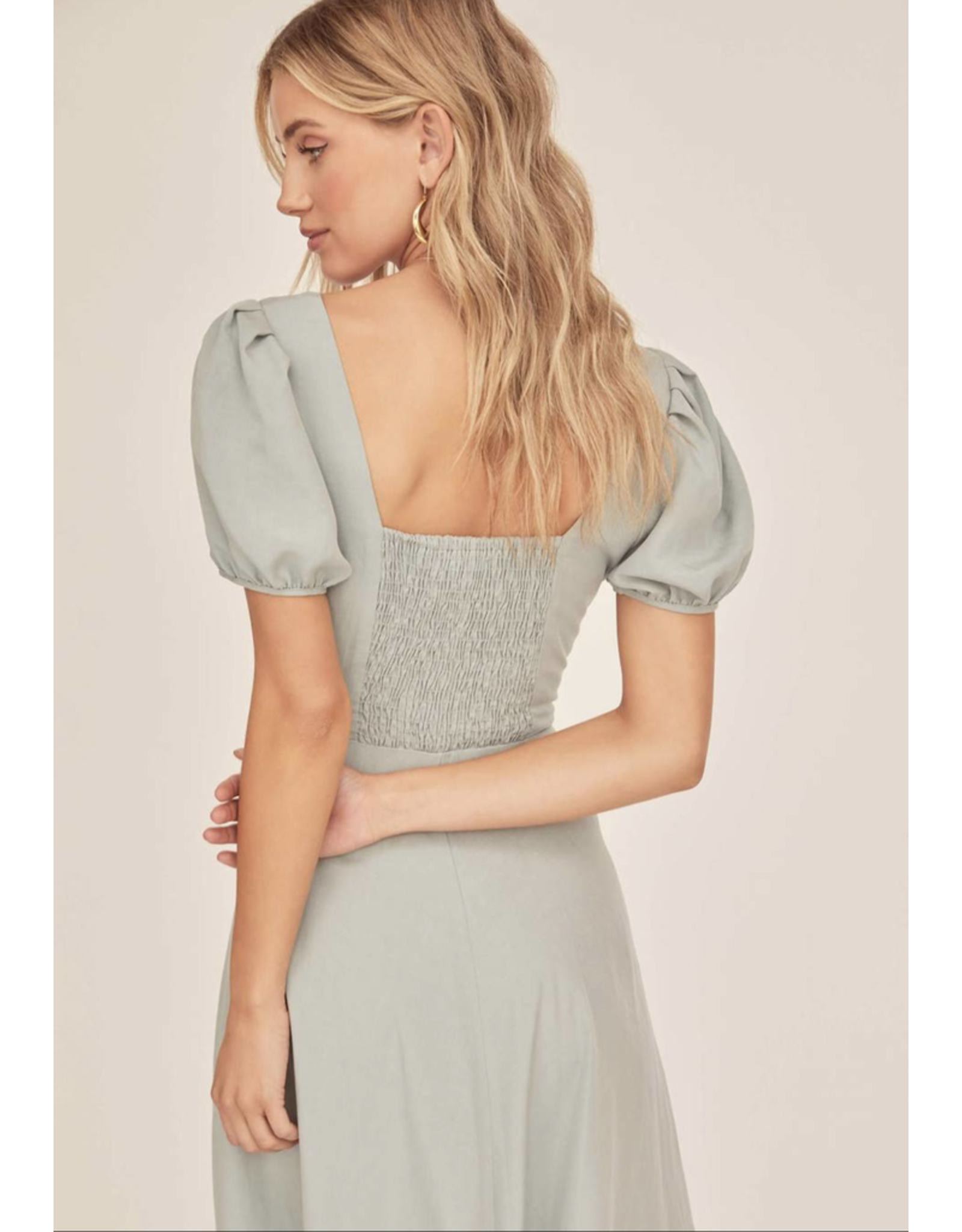 astr astr pippa front button dress