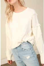 line & dot line + dot gabi sweater