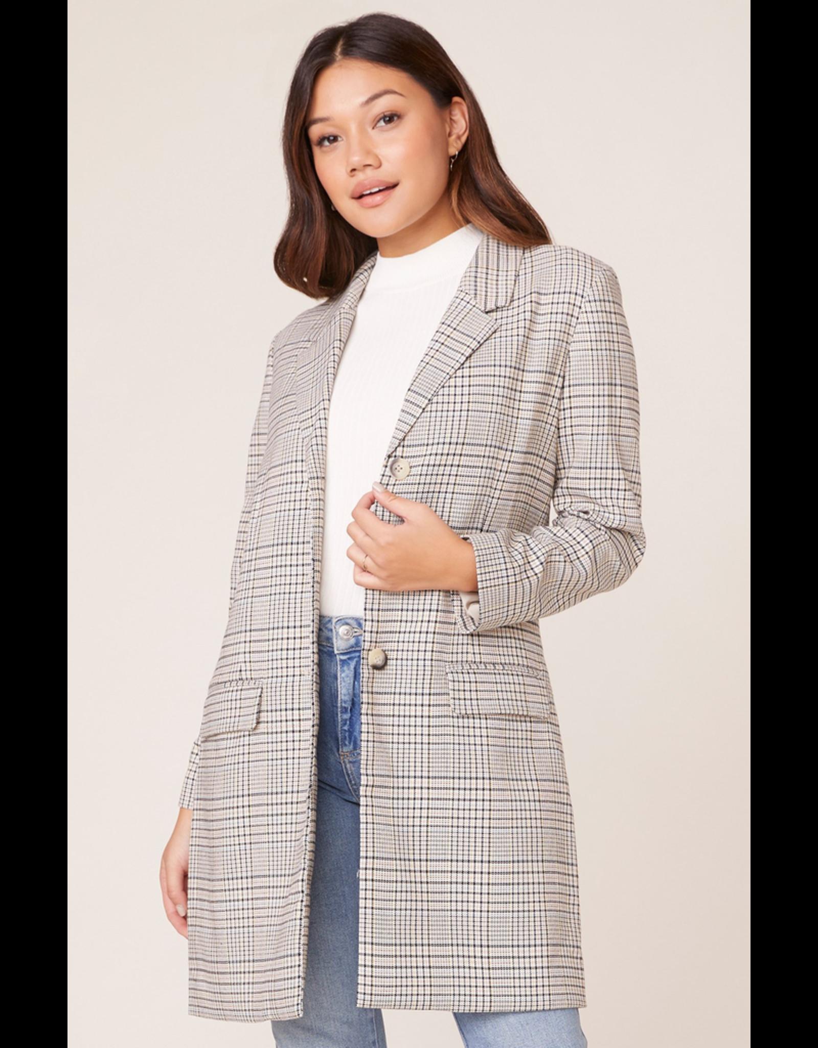 bb dakota bb dakota plaid reputation jacket