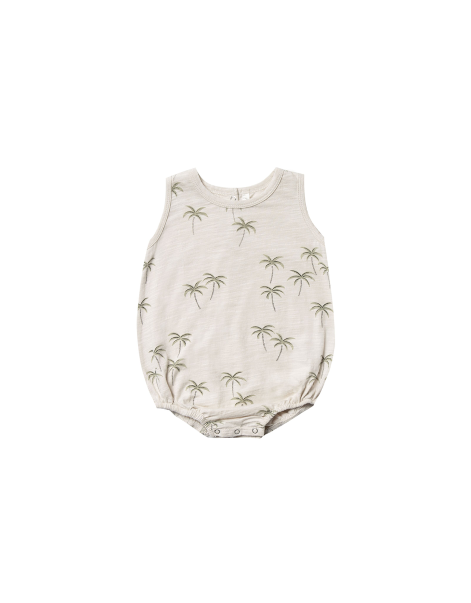 rylee cru palm bubble onesie