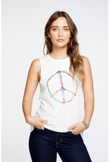 chaser chaser peace sign tank