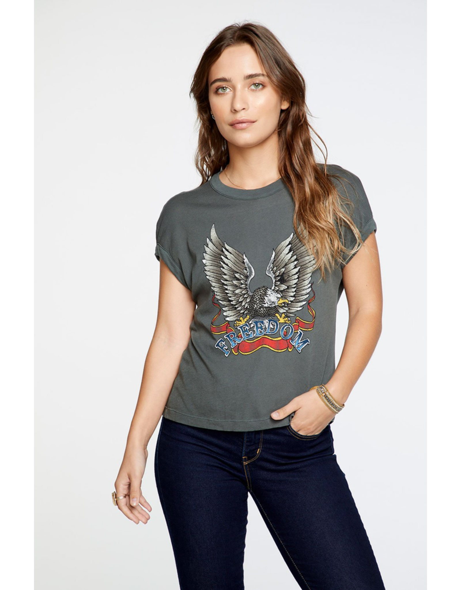 chaser chaser freedom eagle tee