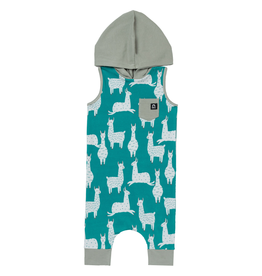rags rags to raches hooded tank llamas