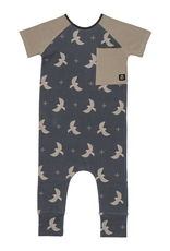 rags rags to raches short sleeve raglan birds