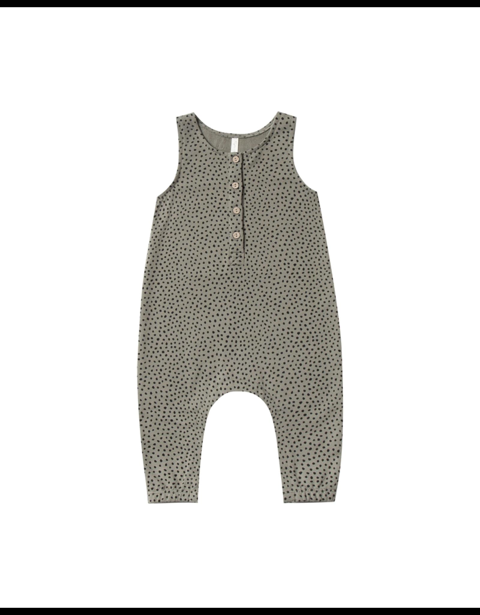 rylee cru rylee + cru micro dot jumpsuit