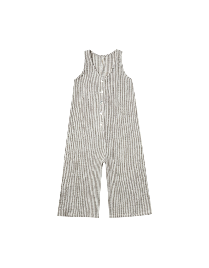 rylee cru rylee + cru stripe bridgette jumpsuit