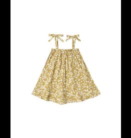 rylee cru rylee + cru scattered daisy shoulder tie dress