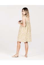 rylee cru rylee + cru womens scattered daisy shoulder tie dress