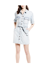blank nyc blank nyc button up denim dress