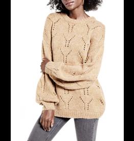 j.o.a. j.o.a. balloon sleeve sweater