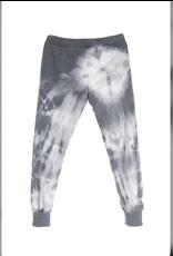 flight lux diamond tie dye stirrup pants