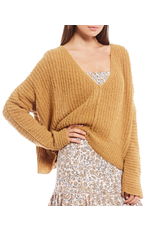 free people free people moonbeam v neck sweater