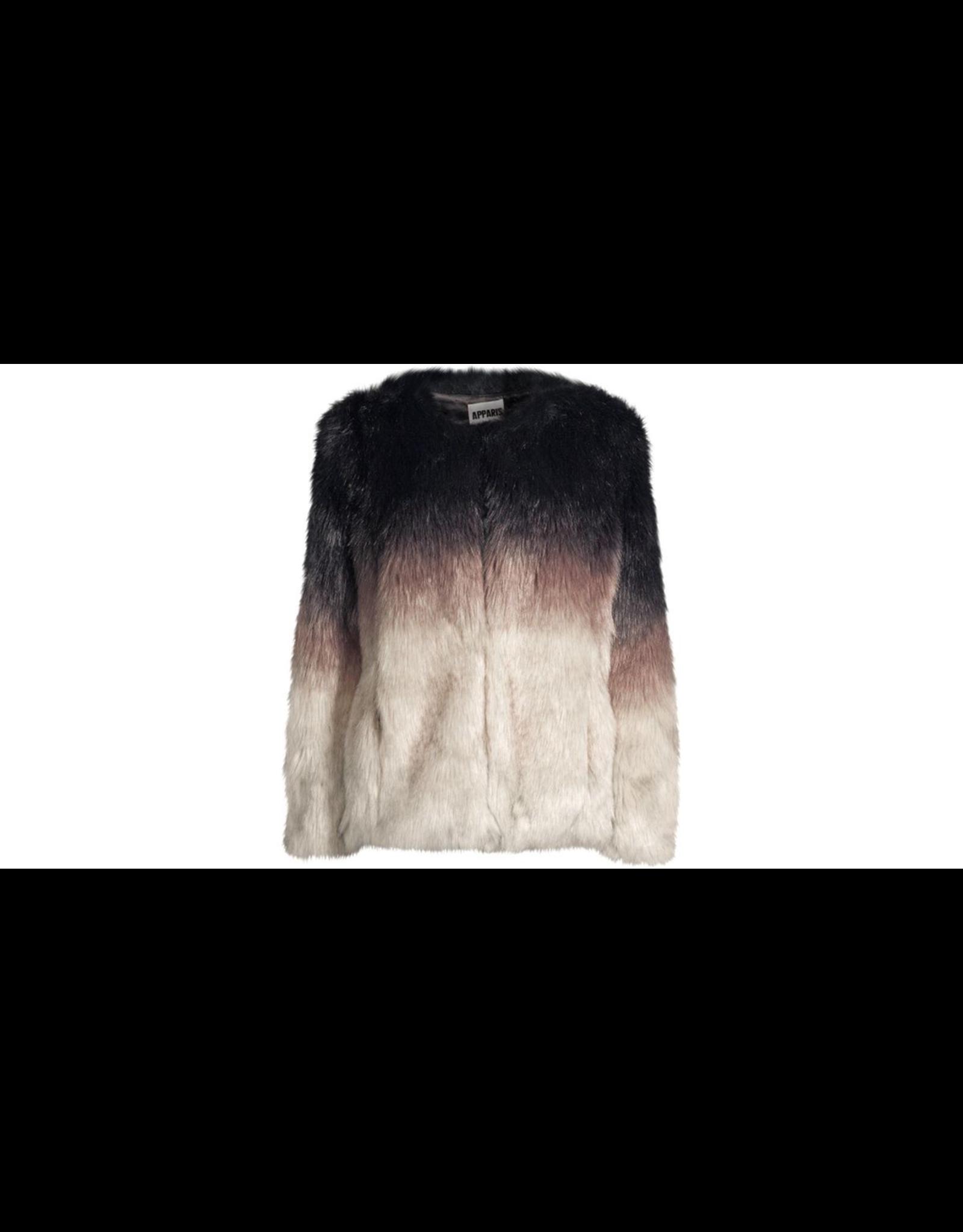 flight lux apparis lola faux fur coat