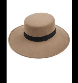 flight lux flight lux wool boater hat khaki