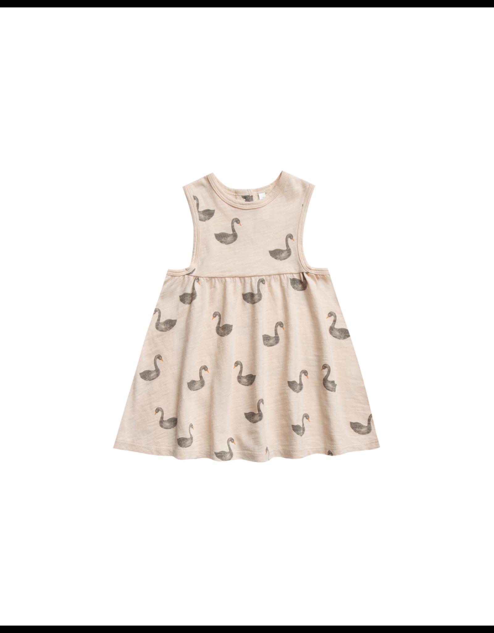 rylee cru layla swans dress