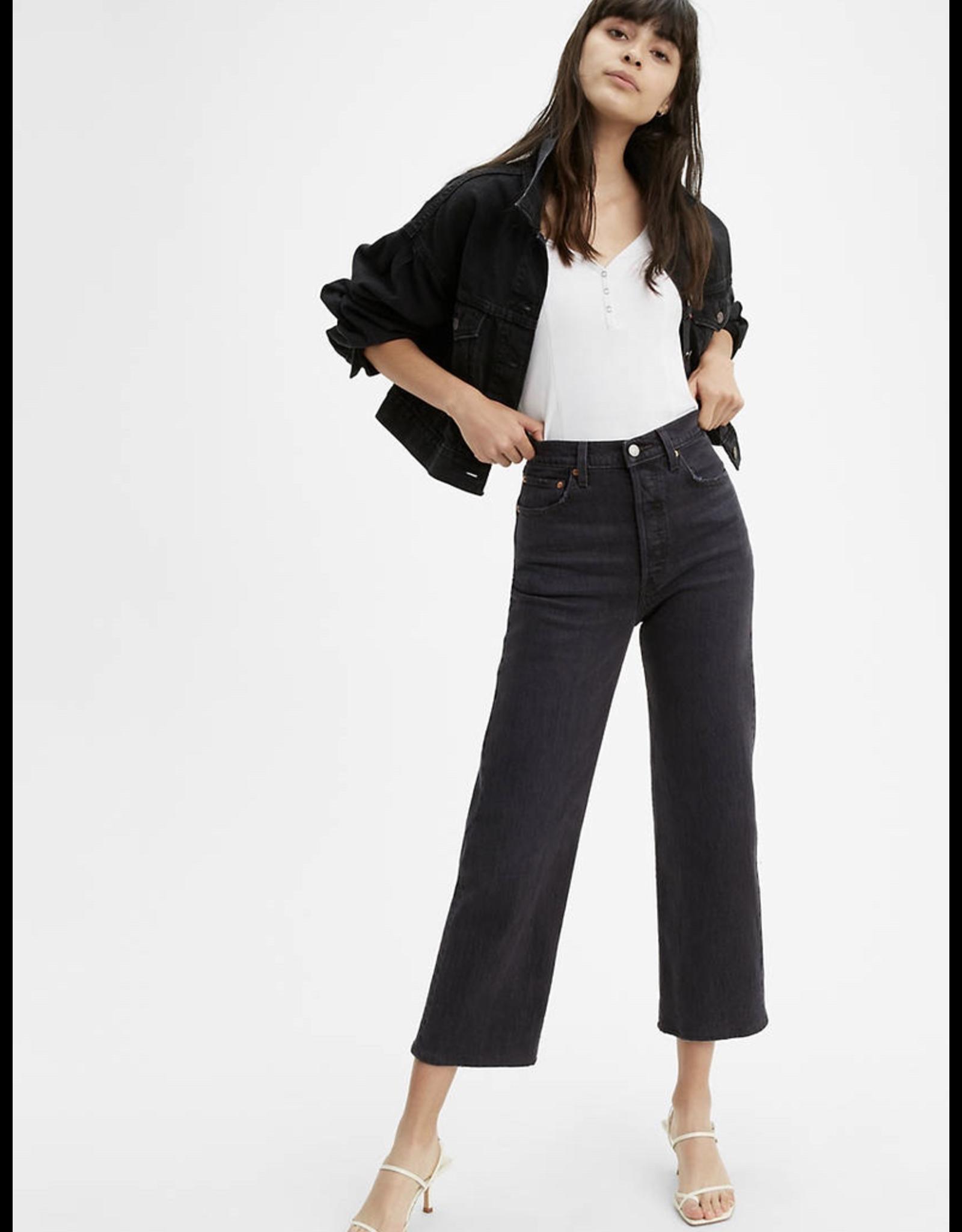 levi levi's ribcage straight ankle jeans