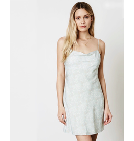 cotton candy simple slip dress