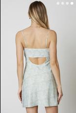 cotton candy simple slip dress