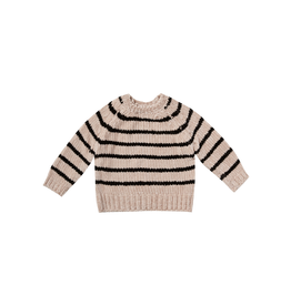rylee cru striped chenille sweater