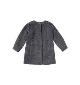 rylee cru rylee + cru no-collar coat