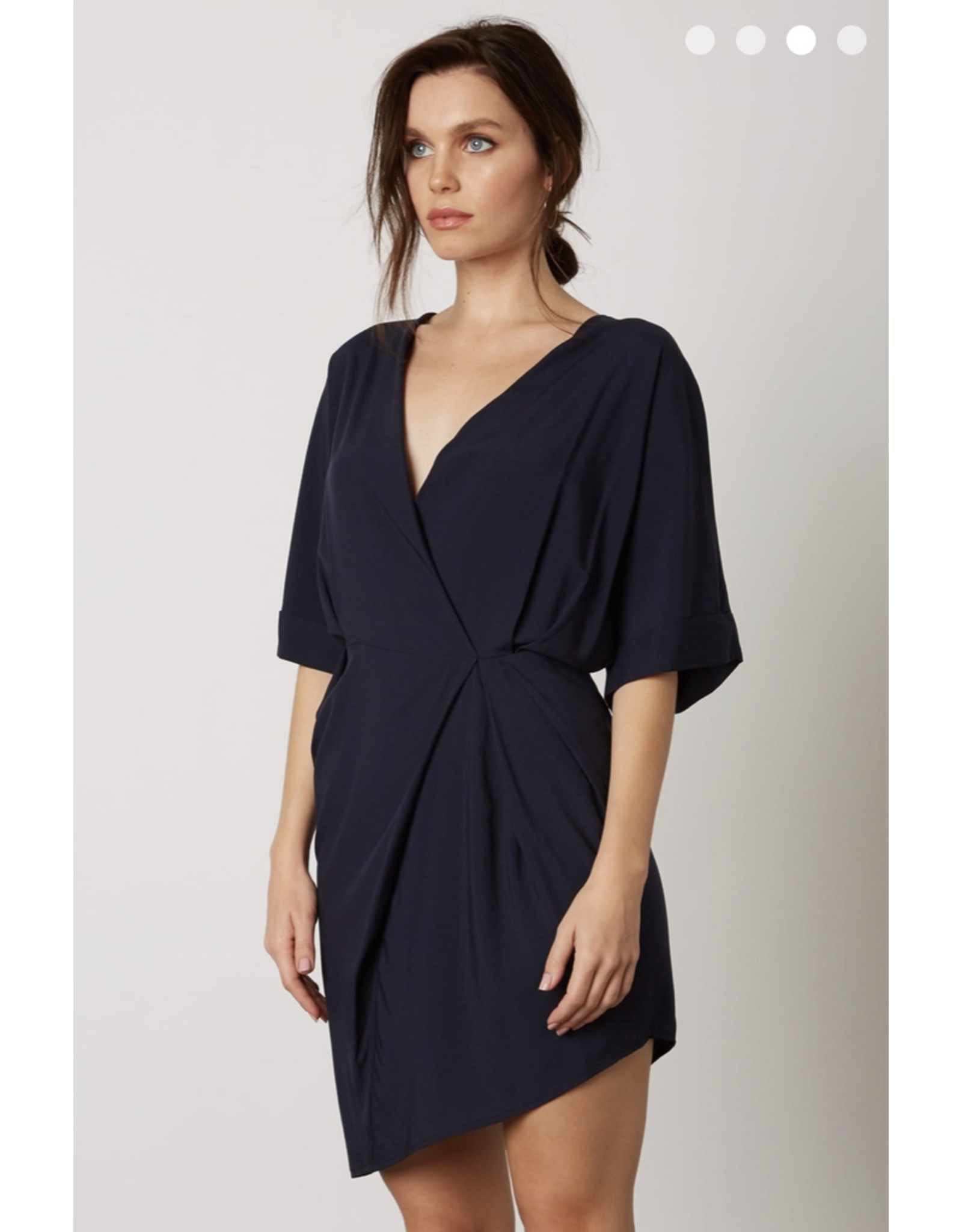 cotton candy asymetrical dress