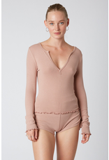 flight lux NIA notched hacci top