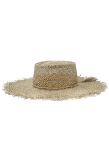 flight lux seagrass boater hat