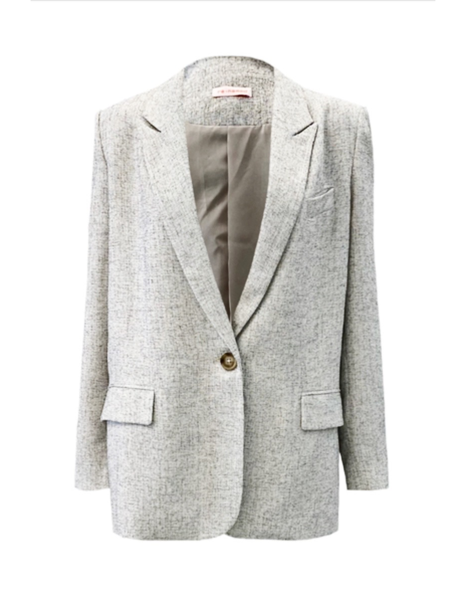 flight lux re:named whitley linen blazer