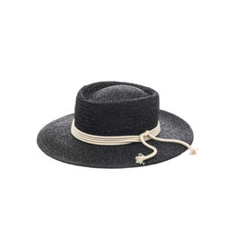 flight lux flight lux staw bolero hat with rope trim