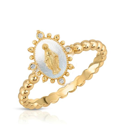 joy dravecky lady lourdes ring