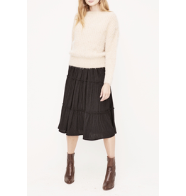 lush lush boat neck/ off the shoulder sweater