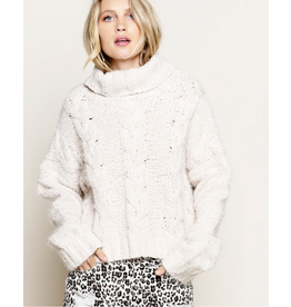 flight lux mohair knit sweater