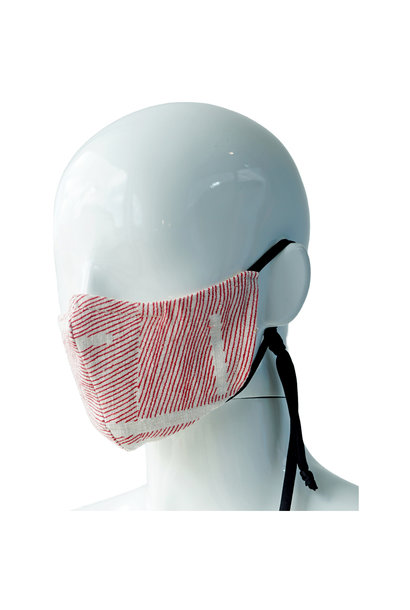 REVERSIBLE REPURPOSED LINEN MASK