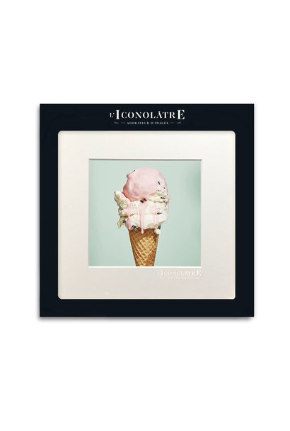 WALL ART PHOTO PRINT, ICE CREAM
