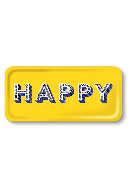 "SERVING ""HAPPY"" TRAY"