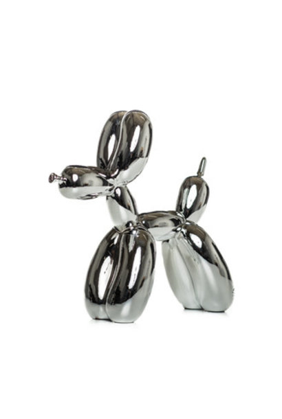 SILVER BALLOON DOG