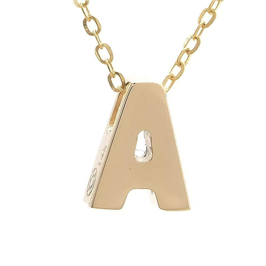 MMJ 14K INITIAL NECKLACE-1
