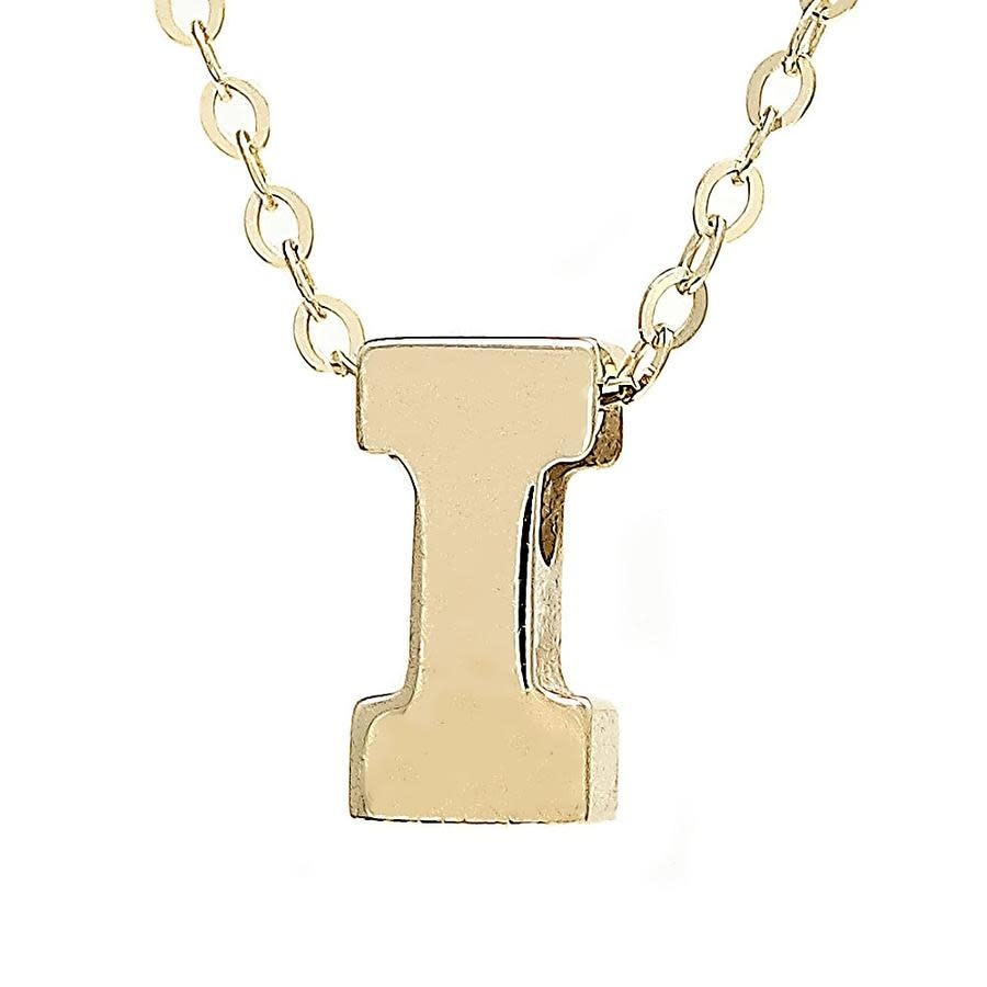 MMJ 14K INITIAL NECKLACE-6