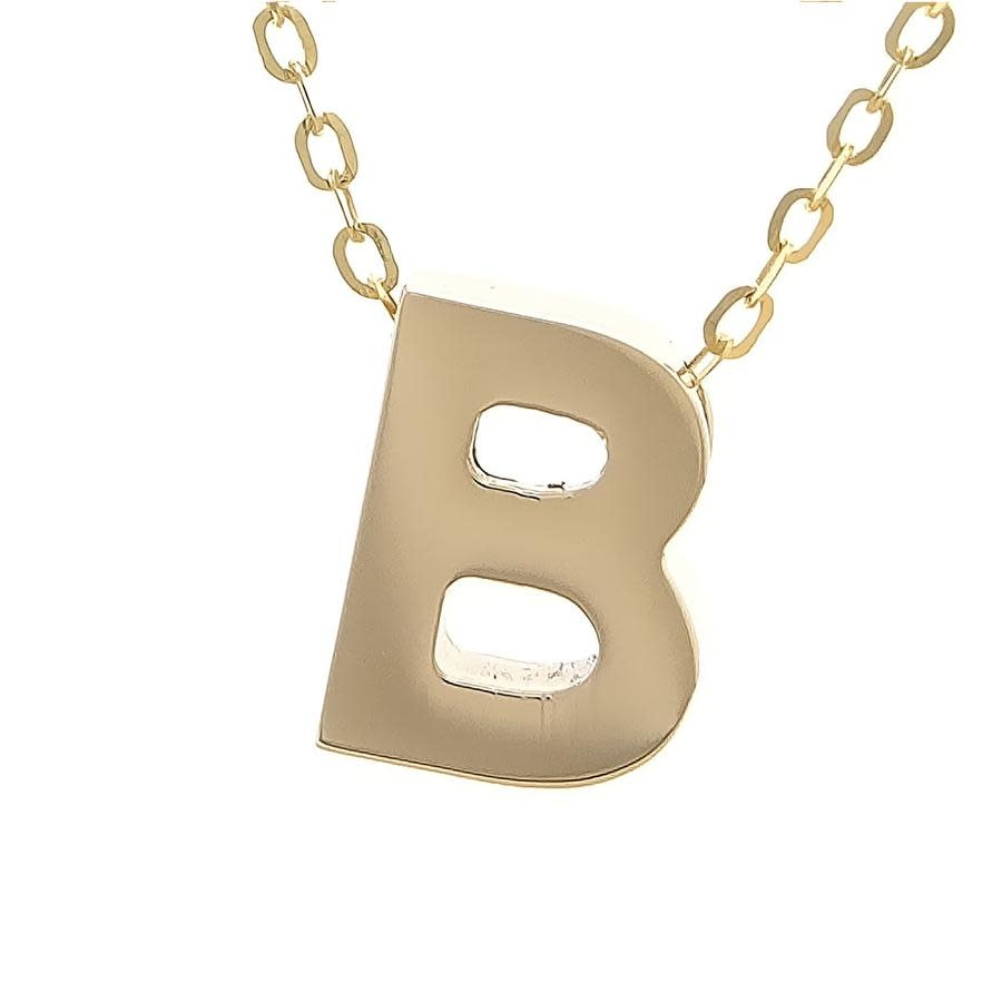 MMJ 14K INITIAL NECKLACE-2