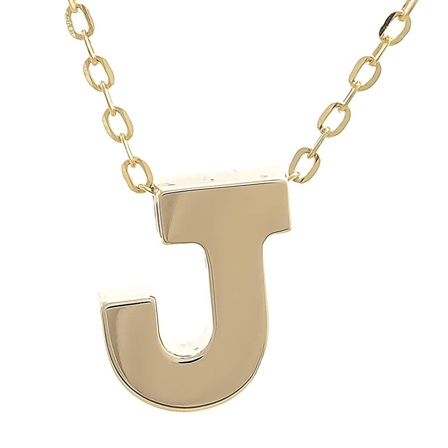 MMJ 14K INITIAL NECKLACE-7