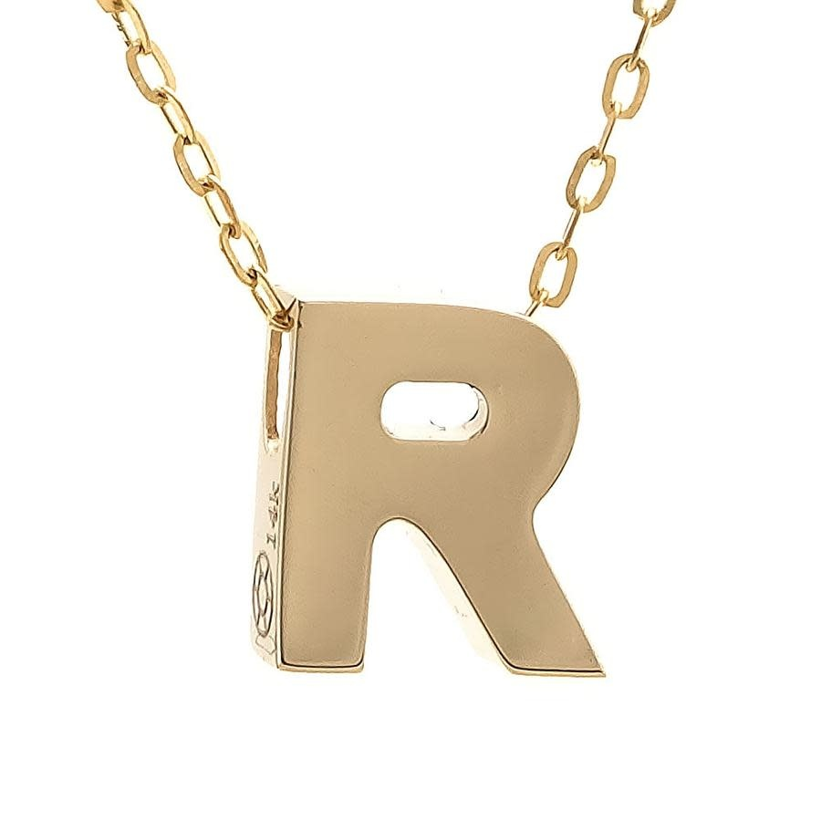 MMJ 14K INITIAL NECKLACE-10