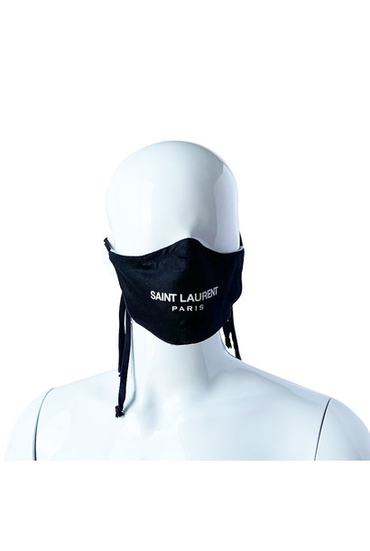 REVERSIBLE REPURPOSED SAINT LAURENT MASK