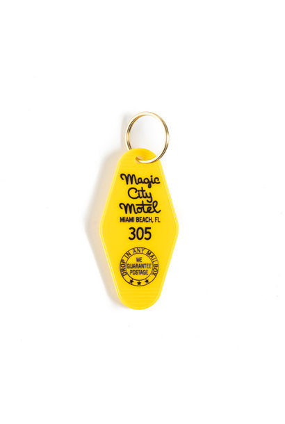 CUSTOM VINTAGE MOTEL KEY RINGS