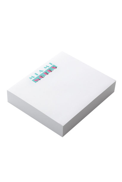 MIAMI NOTES NOTE PAD