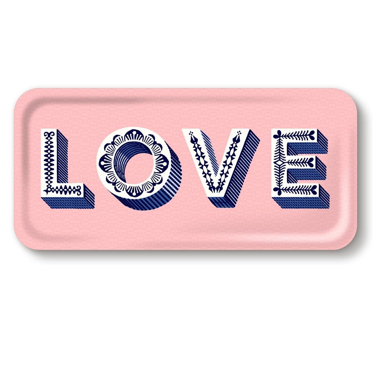 M24 TRAY LOVE, PINK-1